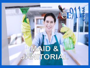Janitors, Housekeepers & Maids